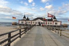 Die Seebrücke im Seebad Ahlbeck