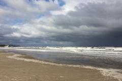 Wolkenspiele am Ahlbecker Strand